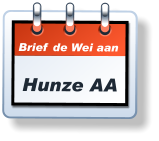 Brief de Wei aan Hunze AA