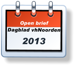 Open briefDagblad vhNoorden 2013